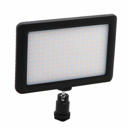 12W 192 Led Studio Video Dauerlicht Lampe Für Kamera Dv Camcorder Schwarz U2C2