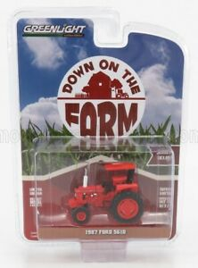 GREENLIGHT 1/64 FORD ENGLAND   5610 TRACTOR 1987   RED