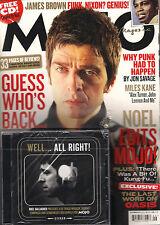 MOJO UK 214 September 2011 NOEL GALLAGHER Miles Kane JAMES BROWN + CD V/A