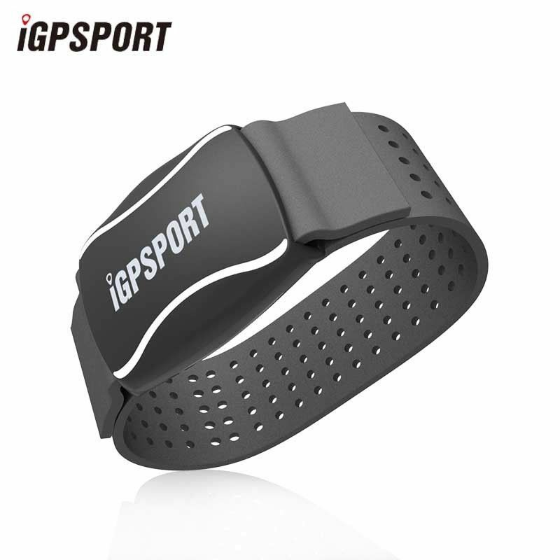 IGPSPORT IPX7 Waterproof Smart Heart Rate Monitor Arm ANT+ blueetooth 4.0 3 color