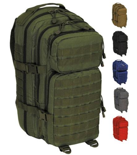 NEU US Tactical Rucksack MOLLE Assault I Basic 30 Liter PACK SM Trekking BW
