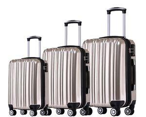 Muenicase Kofferset Rollkoffer Hartschalen Koffer Reisekoffer Trolley Set/XL/L/M
