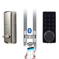 Electronic Bluetooth Touch Screen Password Digital Keyless Intelligent Door Lock