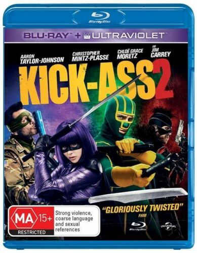 1 of 1 - Kick-Ass 2 (Blu-ray, 2013)