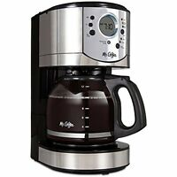 Mr. Coffee 12-Cup Programmable Coffee Brewer with Brew Strength Selector (CJX31)