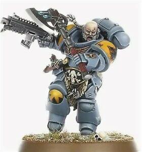 Primaris bataille leader Space Wolves Haldor icepelt-NEUF sur Carotte warhammer 40k