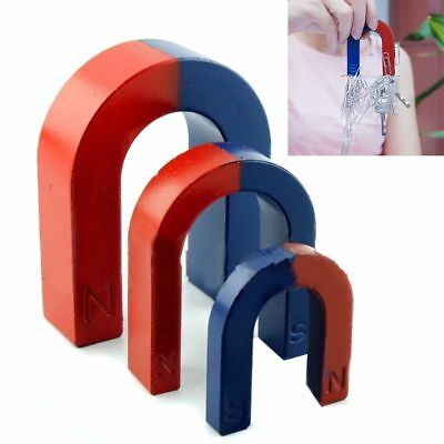 3Size traditionelle U-geformte Hufeisen-Magnet-Kind-Strumpf-Füller-Party-Tasc AB
