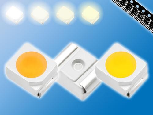 400x SMD LED MIXWarm Weiß//Weiß gemischtPLCC-23528verschiedene Typen