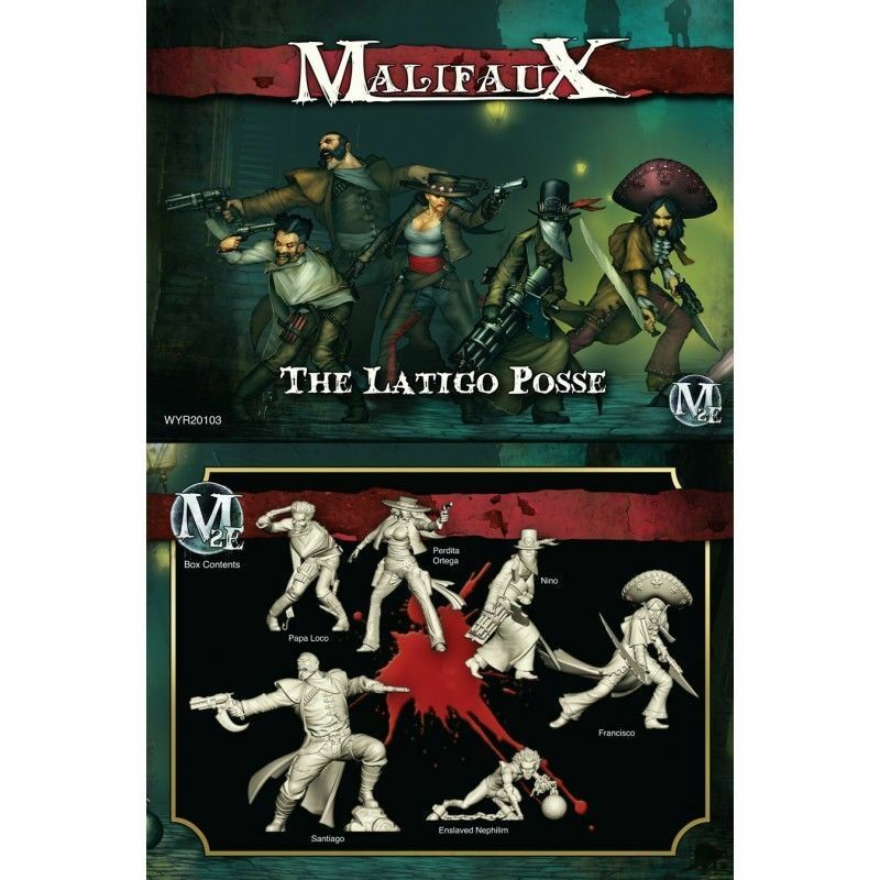 Malifaux, gille  Latigo Posse, New av Wyrd