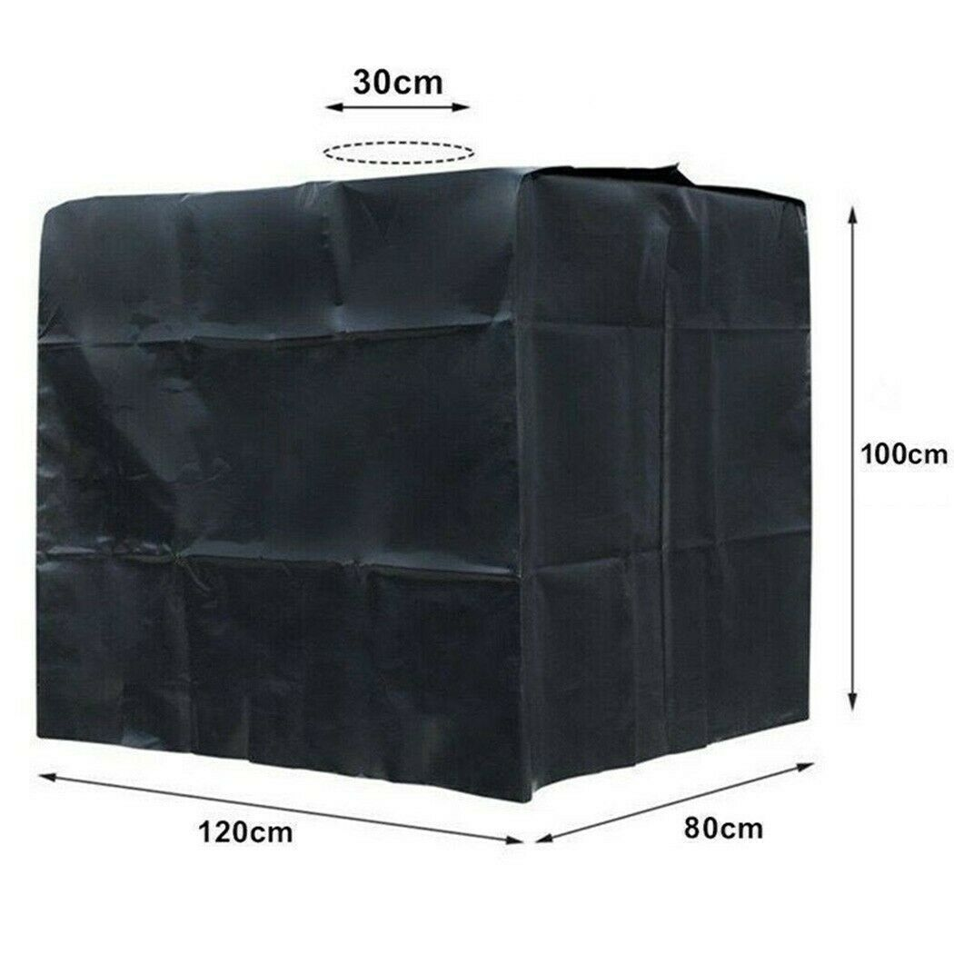 Rain Water Collector Butt Set Container Greenhouse Water Tank Dustproof Cover