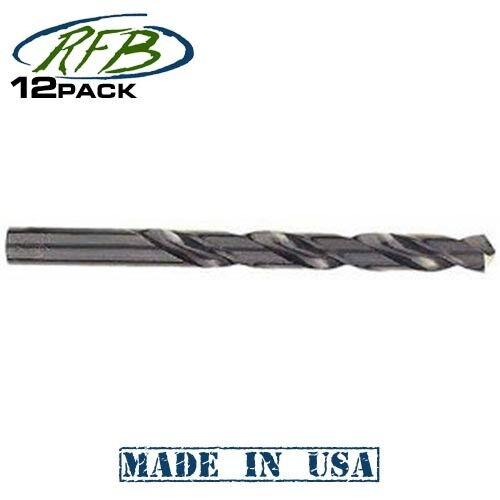 "Milwaukee 48-89-0234 15//64/"" Black Oxide Drill Bit 12-pk"
