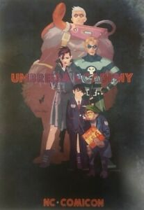 Umbrella-Academy-Tommy-Lee-Edwards-NC-Comicon-12-034-x-18-034-Art-Print-Gerard-Way