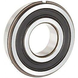 NSK Ball Bearing 6003 2RSNR c//w Groove /& Snap Ring 17mm x 35mm x 10mm