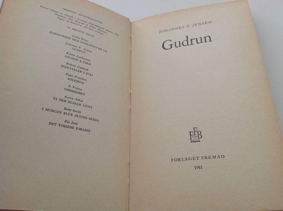 Gudrun, Joh. V. Jensen, genre: roman