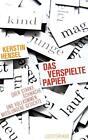 Das verspielte Papier von Kerstin Hensel (2014, Taschenbuch)