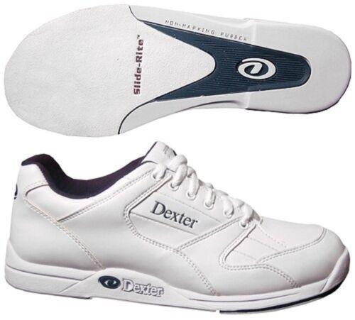 Mens Dexter Ricky Bowling Shoes White Sizes 14 /& Black Storm Shoe Slide