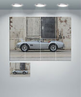 Shelby Cobra Vintage Super Car Giant Wall Art Poster Print