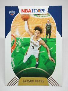 Panini Hoops 2020-21 N28 card NBA #66 Jaxson Hayes - New Orleans Pelicans