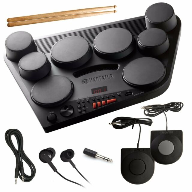 398f7d35c9e9 Yamaha Digital Percussion Dd-75 Black Electric Drum From Japan Tracking