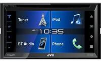 Jvc El Kameleon Kw-v330bt 6.8 Dvd Cd Receiver With Built In Bluetooth Kwv330bt