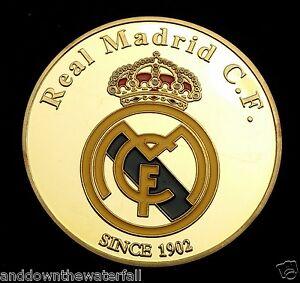 Ronaldo-Real-Madrid-insignia-de-la-Copa-del-Mundo-2014-moneda-de-oro-autografo-futbolista-Man-U-C