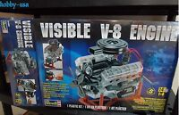 Revell 1:4 Visible V-8 Engine Rmx8883-new