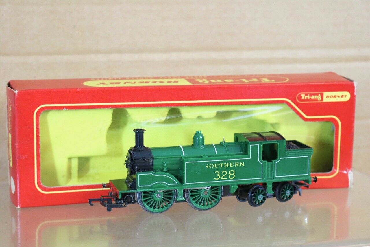 TRIANG TRIANG TRIANG HORNBY R754 SOUTHERN SR 0-4-4-0 CLASS M7 TANK LOCOMOTIVE 328 BOXED ns c00af5