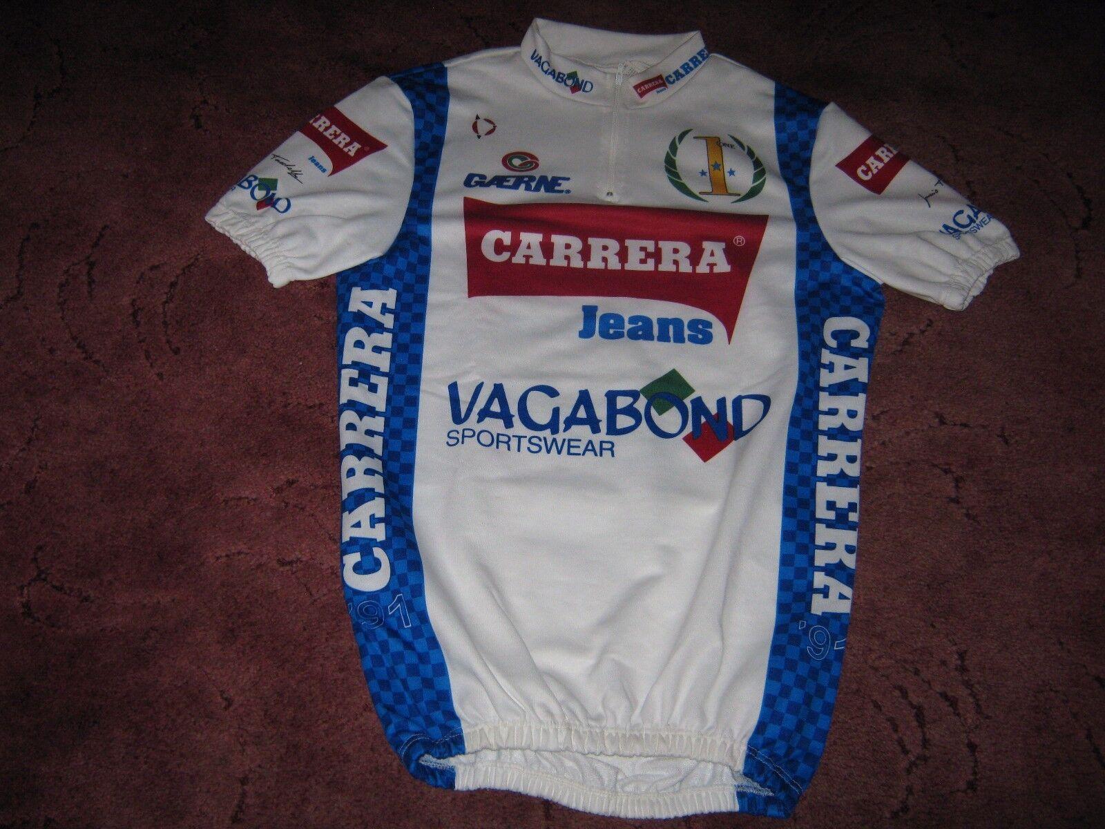 Carrera Vagabond 1991 Nalini Italian cycling jersey [4] NOS