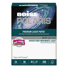Boise Bpl0211 500ream Polaris 85x11 98 Bright Premium Laser Paper White New