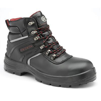 Zephyr ZX01 S3 SRC Black Steel Toe Cap TPU Scuff Cap Premium Chukka Safety Boots