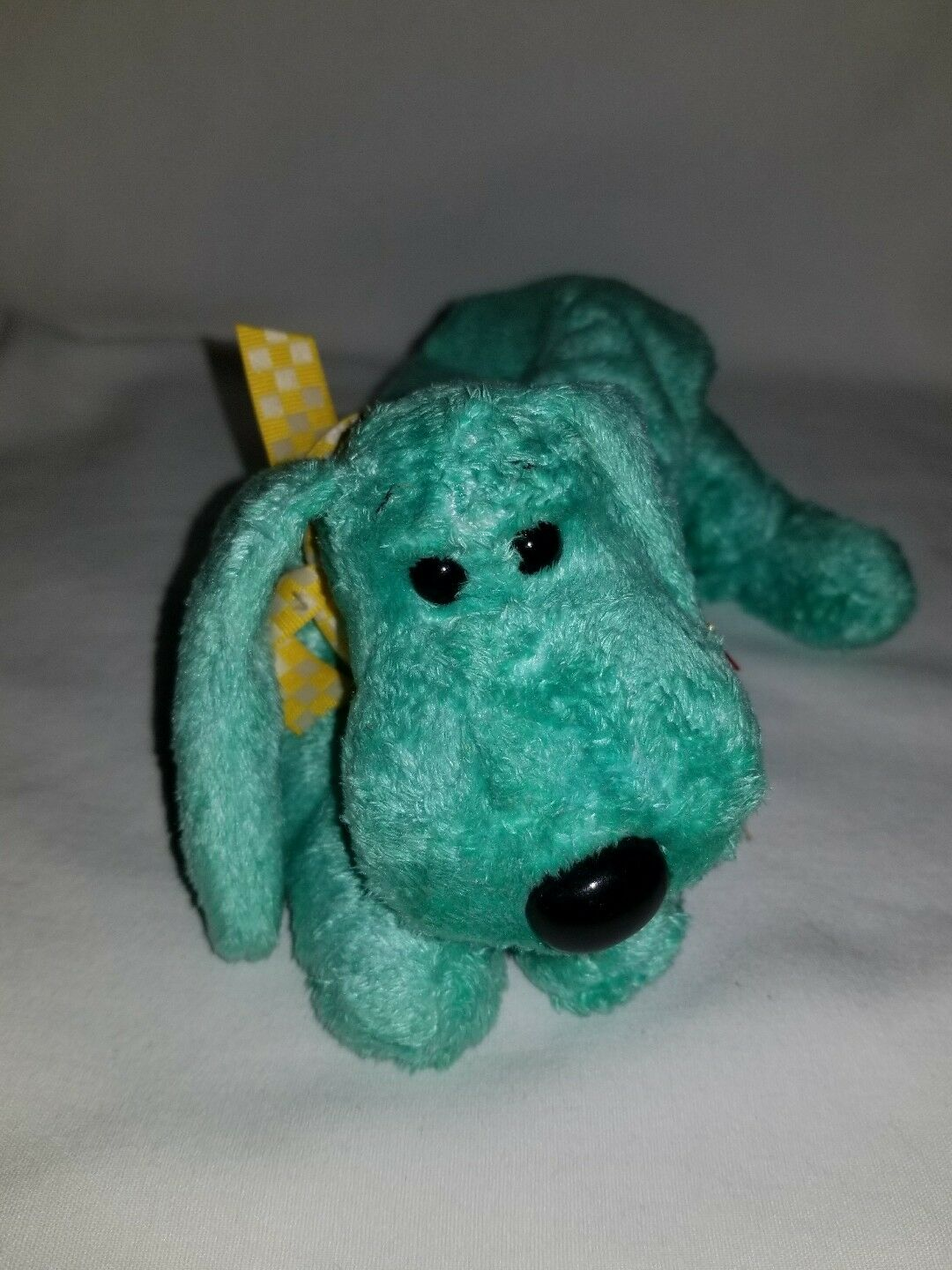 Ty Beanie Baby Diddley The Dog Baby Retired With Tag Error