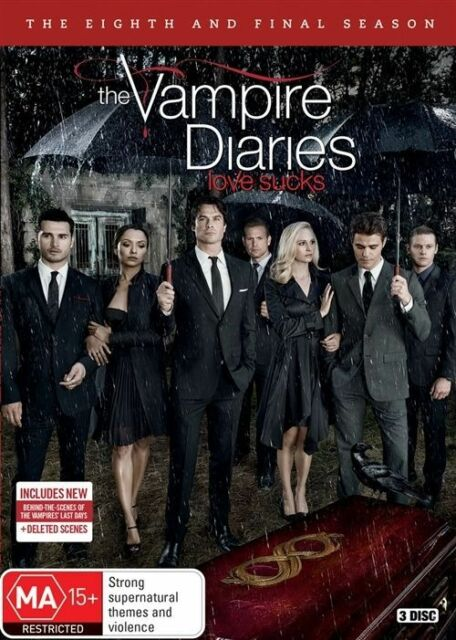 Vampire Diaries : Season 8 (DVD, 3-Disc Set) NEW