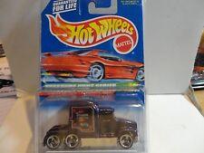 1998 Hot Wheels Treasure Hunt #751 Purple Kenworth T600A in Protecto