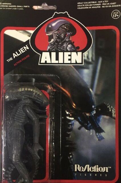 Alien Reaction 9.5cm Figura Guerrero Avp Funko Super7 Kenner Nuevo Moc Menta
