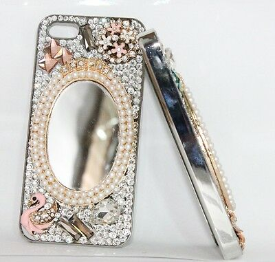 Classic Crystal Peal with Mirror iPhone 4S/4 cover
