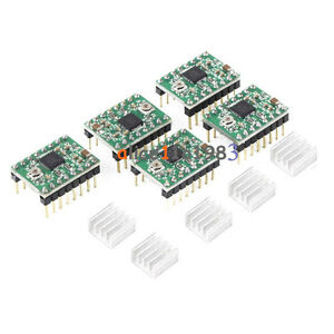 5PCS-A4988-StepStick-Stepper-Motor-Driver-Module-For-Reprap-Prus-3D-Printer