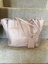 Amazing ZARA TRAFALUC Faux Leather Shoulder Bag With Clutch Bag Dusky Pink