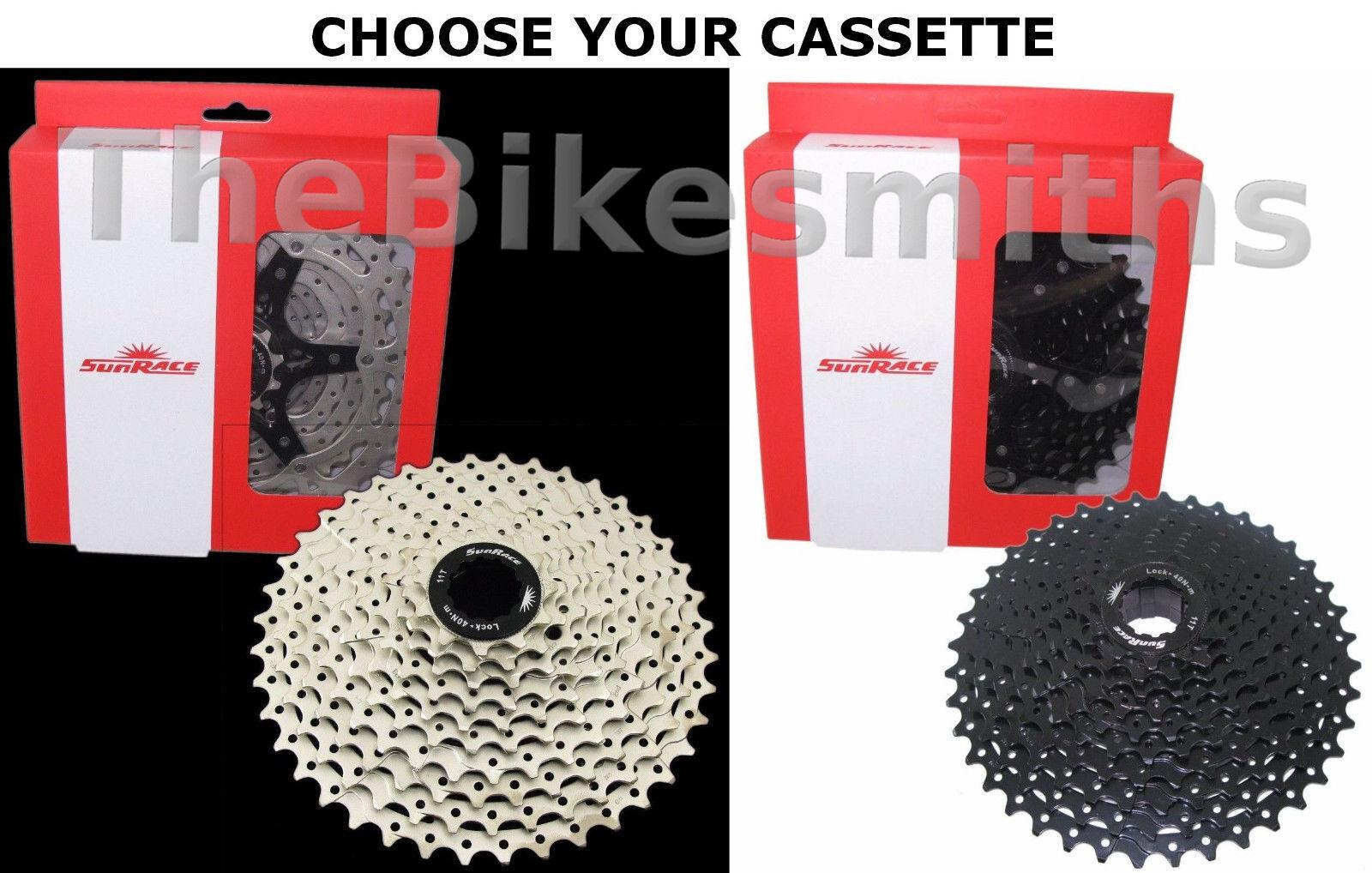 SunRace CSMS3 10 Speed 11-40  11-42t MTB Bike Cassette fits Shimano SRAM 1X 10