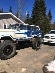 85 jeep wagoneer rock buggy