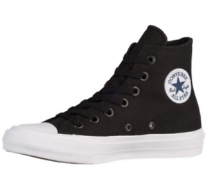 a6cacb8472d1 New Converse Chuck Taylor as II Hi 250143c Black White Canvas Shoes ...