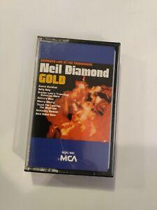 Neil Diamond Gold Cassette Tape