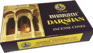 Original-Bharath-Darshan-10-Cone-Pack-Of-Incense-Cones