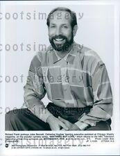 1991 Actor Richard Frank as Jules Bennett TV Show Anything But Love Press Photo