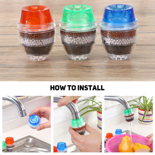 Well Faucet Water Filter Coconut Carbon Home Kitchen Tap Water Clean Purifier  #