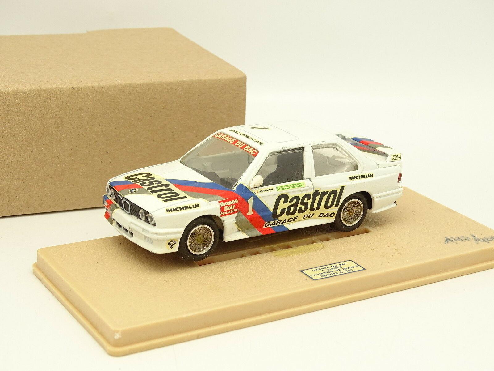 Transformation sur base Gama  - BMW M3 E30 Bac Champion France Giroix 1987