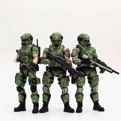 1//18 JOYTOY JT0371 45st LEGION Wasteland Hunter Team Soldier Action Figure Set