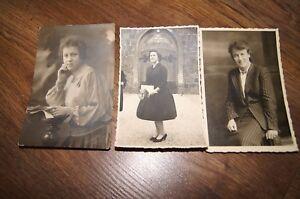 3x old profile photo german women 50's foto wittenberge rathausstr 9-14cm - wielkopolska, Polska - 3x old profile photo german women 50's foto wittenberge rathausstr 9-14cm - wielkopolska, Polska