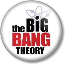 "The Big Bang Theory Logo 25mm 1"" Pin Button Badge Sheldon Cooper Title Geek TV"