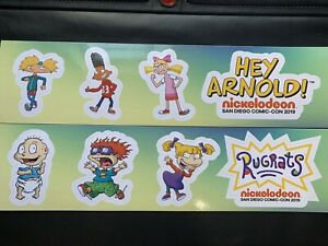 SDCC-2019-EXCLUSIVE-Nickelodeon-Rugrats-amp-Hey-Arnold-Promo-Magnet-Set