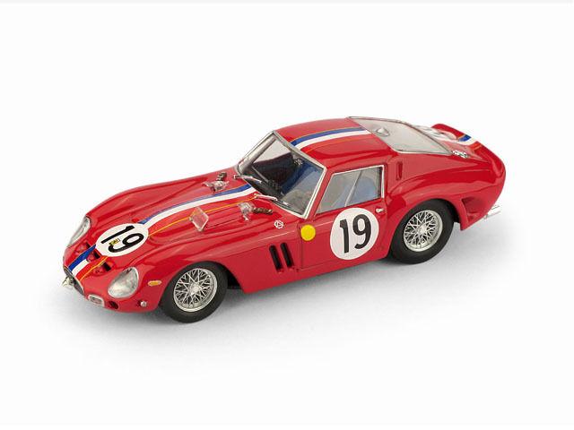 Ferrari 250 Gto 24h Le Mans 62 Guichet   Noblet 1 43 Model R534 BRUMM